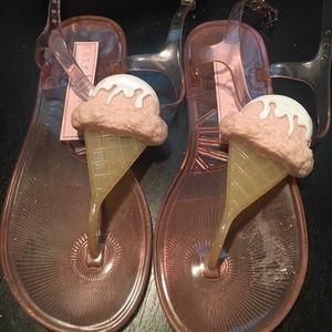 Katy Perry ice cream sandals